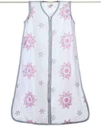 aden + anais classic sleeping bag, for the birds - medallion, large