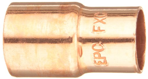 Elkhart Products 118 1X3/4 1-Inch by 3/4-Inch Copper Fitting (Copper Reducer Fitting)