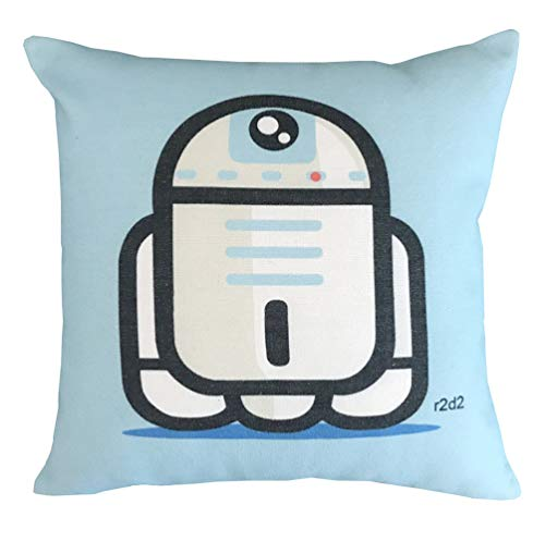rs Characters Decorative Throw Pillow Cover Cases 18 x 18 Inches ()