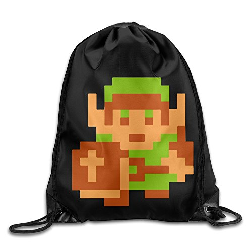 Drawstring Backpack Bag The Legend Of Zelda Majora's Mask (Skull Sock Mask)