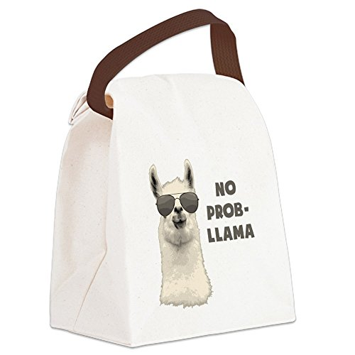 CafePress Problem Llama Canvas Handle