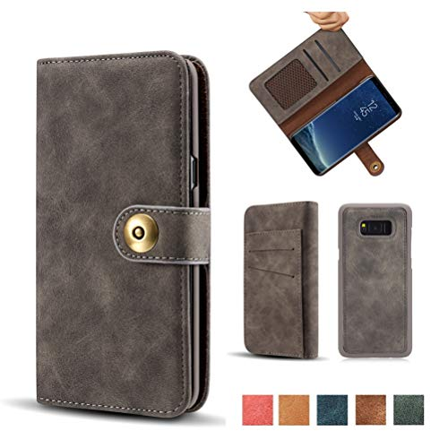 10 best note 8 wallet case detachable leather for 2020