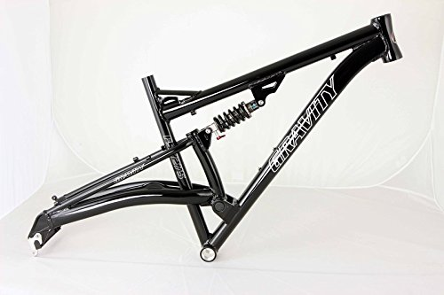 Gravity FSX 27.5 inch 650b Wheel Aluminum Dual Suspension Bike Frame (15 inch)