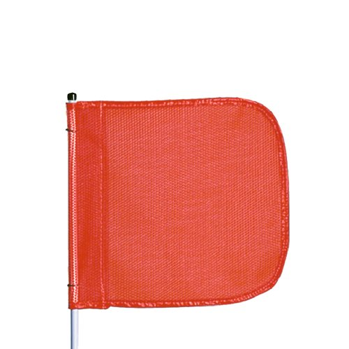 (Flagstaff FS6 Safety Flag, Threaded Hex Base, 12