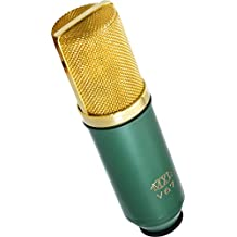 MXL V67G Capsule Condenser Microphone, Large (Green/Gold)