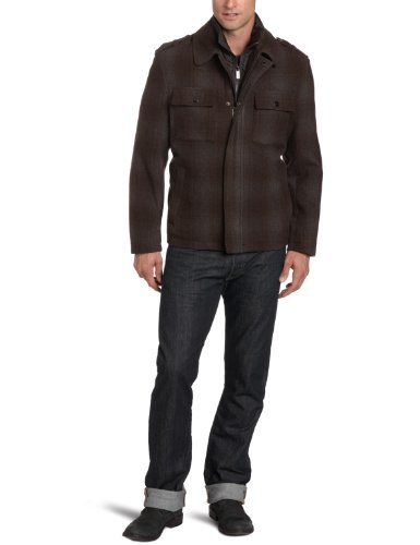 Michael Kors Men's Brisbane Newsboy Coat