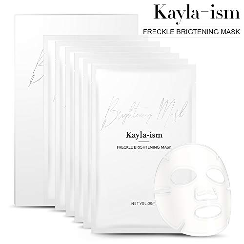 41wSVWruS L - Kayla-Ism Facial Mask | Repairing Skin in 28 days | Collagen Mask Sheet with Jasmine essence| Long last Moisturizing Face Mask | Anti Aging Brightening Face Sheet Mask | Natural Face Mask Pack