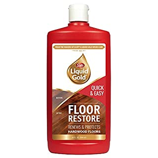 Scott's Liquid Gold Restore | Renews & Protects Hardwood Floors | Quick & Easy Way to Help Hide Scratches & Imperfections While Leaving a Clean, Bright Finish | 24 Oz, 24 Fl Oz