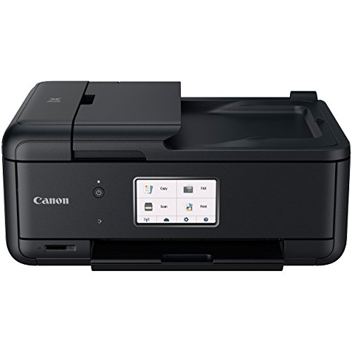 Canon PIXMA TR8520 Wireless Home Photo Office All-in-One Printer with Scanner, Copier and Fax: Airprint and Google Cloud Compatible, Black by Canon