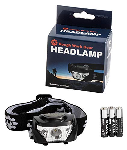 Rough Work Gear LED Headlamp