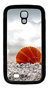 Beach sand and shells Easter Thanksgiving Personlized Masterpiece Limited Design TPU Black Case for Samsung Galaxy S4 I9500 by Cases & Mousepads