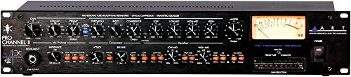 ART Pro Channel II Microphone Preamp/Compressor/EQ Professional Tube Based Selectable VU Metering (Compressor Based)