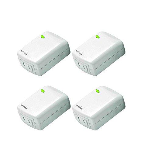 Leviton Decora Smart Wi-Fi Plug-in Dimmer (4 Pack)