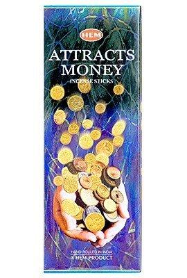 (Attracts Money - Box of Six 20 Gram Tubes - HEM)