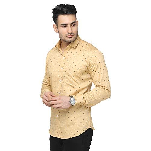 ARDYN Men's Cotton Slim Fit Casual Shirt