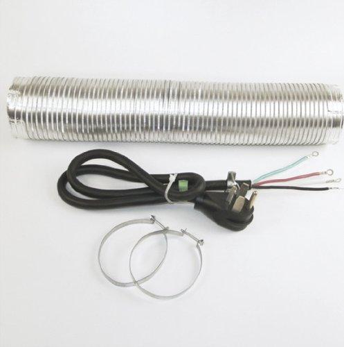 Whirlpool 4' Dryer Cord4 Wire, W/8 (W10182830RB)