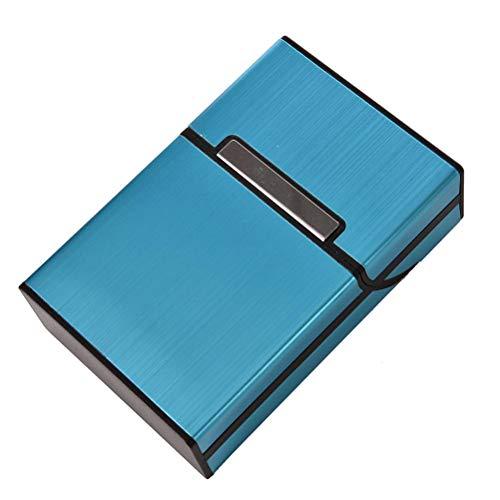 En Bleu Cas Bingpong Le Cigare Stockage 20 Support Boîte Aluminium De Clair Tient Cigarettes Tabac Portatif Récipient or wzIzTq