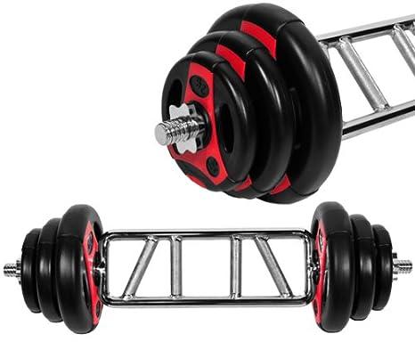K de Grip. 26,5 kg tríceps de Juego de mancuernas mancuernas discos/