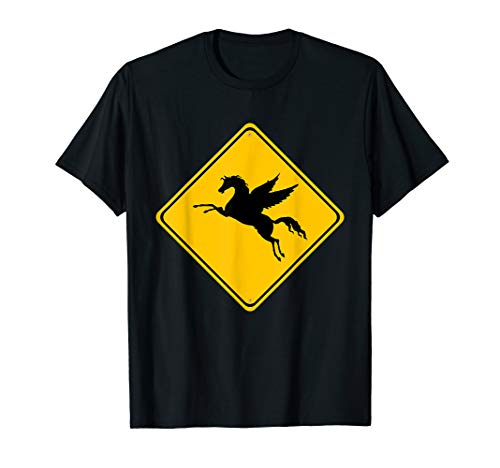 Pegasus the Winged Horse Crossing - Xing Street Sign ()