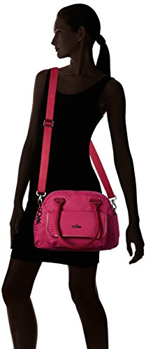 ref33o Craft Bag Women's Berry Sabin Kipling handle Top Pink A61xqw