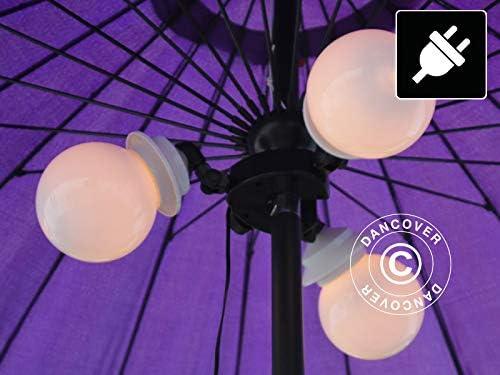 Luz para Parasol en Forma de Globo, Pharaoh: Amazon.es: Jardín
