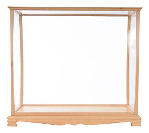 Old Modern Handicrafts P033 Display Case for Midsize Tall Ship Clear Finish by Old Modern Handicrafts (Image #2)