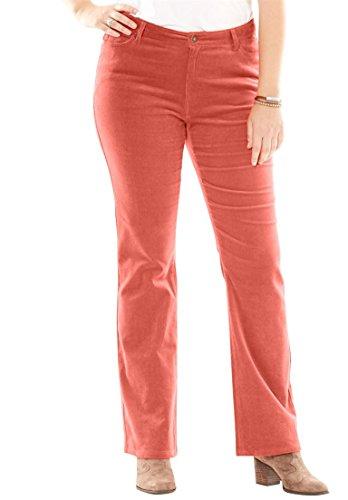 Plus Size Corduroy Pants - 2