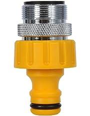 Hozelock Keuken Tap Connector met een 24mm mannelijke kop - Geel