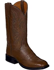 Lucchese Mens Handmade Jason Lone Star Calf Cowboy Boot Square Toe - M4083