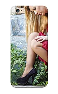lintao diy Hot Tpye Blonde In A Red Dress Case Cover For Iphone 6 Plus Kimberly Kurzendoerfer