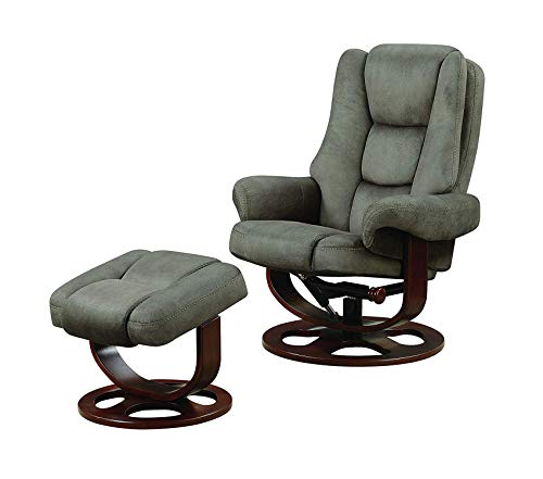 Deluxe Premium Collection Chair with Ottoman Decor Comfy Living Furniture