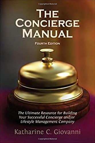 the concierge manual a step by step guide to starting your own rh amazon com Training Manual Cover Training Manual Templates Microsoft Word
