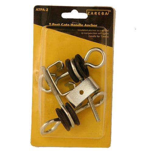Zareba ATPA-Z T-Post Gate Handle Anchors (Anchor Gate Kit)