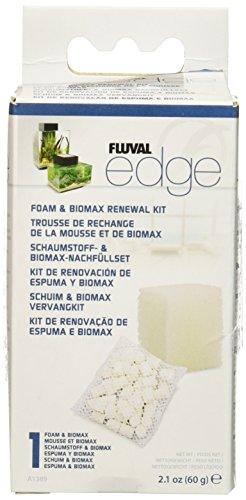 Fluval Hagen Edge Foam Pad and BioMax Renewal Kit, 3PACK ()