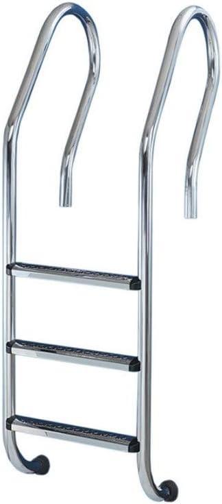 Escalera pisc. 4 peldaÑos peldaÑo metalico filinox a/inox 87: Amazon.es: Bricolaje y herramientas