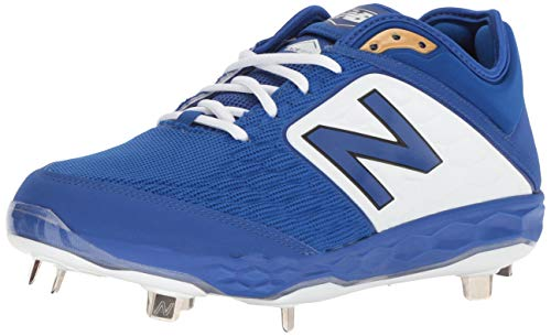 Royal Blue Metal - New Balance Men's 3000v4 Baseball Shoe, Royal, 8 D US