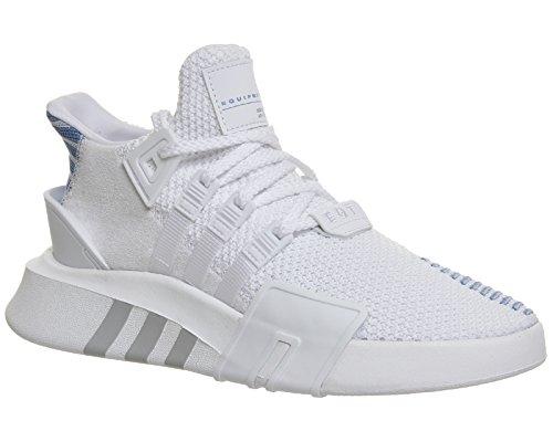 adidas EQT Bask ADV, Baskets Hautes Femme Blanc Cassé (Ftwr White/ftwr White/ash Blue S18)
