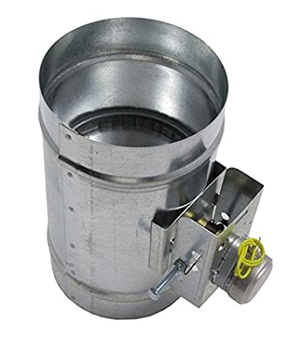 Motorized Damper - Normally Closed 4 Inch 120 VOLT