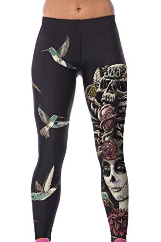 Dokotoo Womens Print Length Leggings