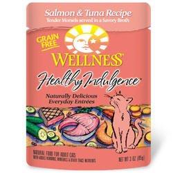 Wellness Healthy Indulgence - Salmon & Tuna Entree - 24 x 3 oz
