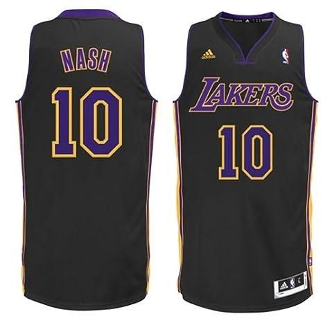 Amazon.com: Los Angeles Lakers Adidas NBA Steve Nash #10 ...