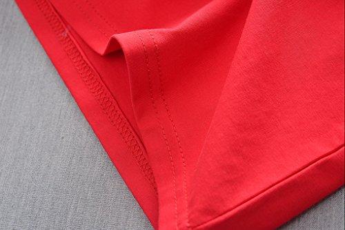ni Short Acmede de Baby para os Red Camiseta Set de Boy corta verano Ropa Stripe manga 4r4HgcR