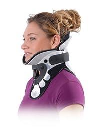 CSI C-Spine Immobilizer Neck Brace, Regular With Extra Padding