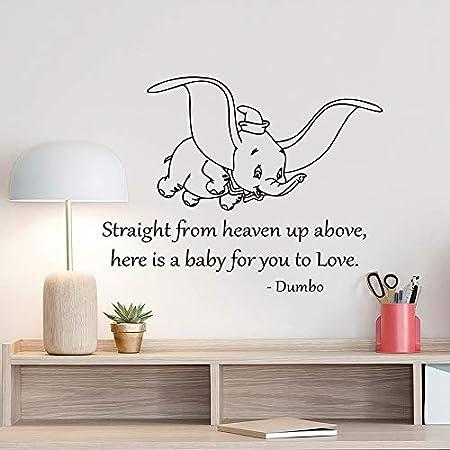 yuandp Fly Elephant Lindo Dormitorio Decoración para Bebé ...