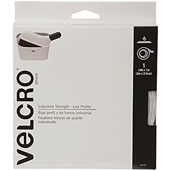 "VELCRO Brand - Industrial Strength Low Profile - 10' x 1"" Tape - Black"
