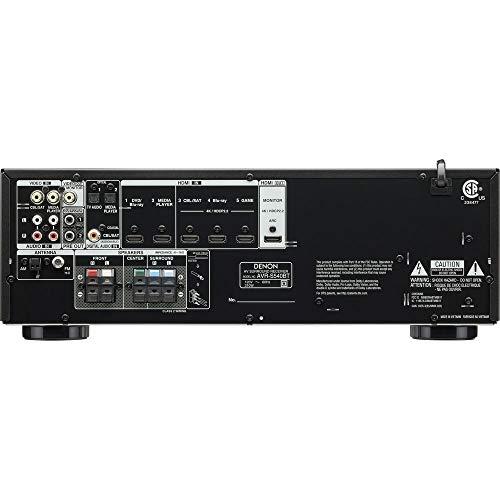 Denon AV Receiver Audio & Video Component Receiver BLACK (AVRS540BT) (Renewed) by Denon (Image #2)