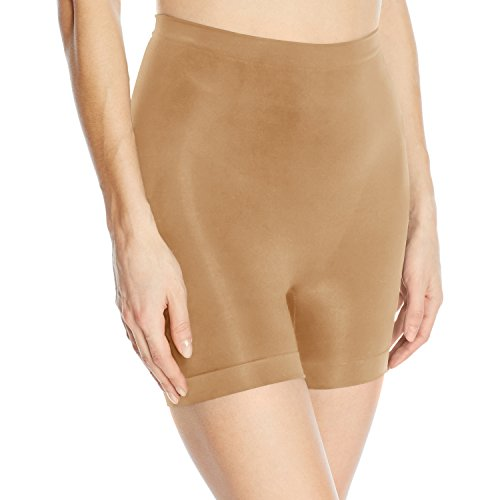 Body Wrap Women's Lites The Chic Boyshort Panty, Nude Small ()