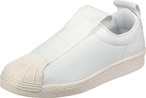 Bw3s Superstar Adidas Damen Slipon W Fitnessschuhe, Schwarz Weiß (ftwr Blanc / Ftwr Blanc / Blanc Cassé)