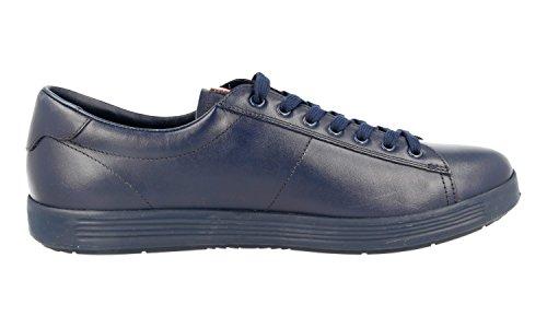 ... Prada Menns 4e2860 Skinn Sneaker