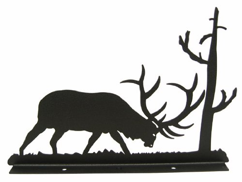 Elk In Rut Mailbox Topper